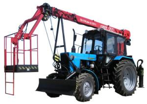 31Подъемник монтажный на базе трактора Беларус-920